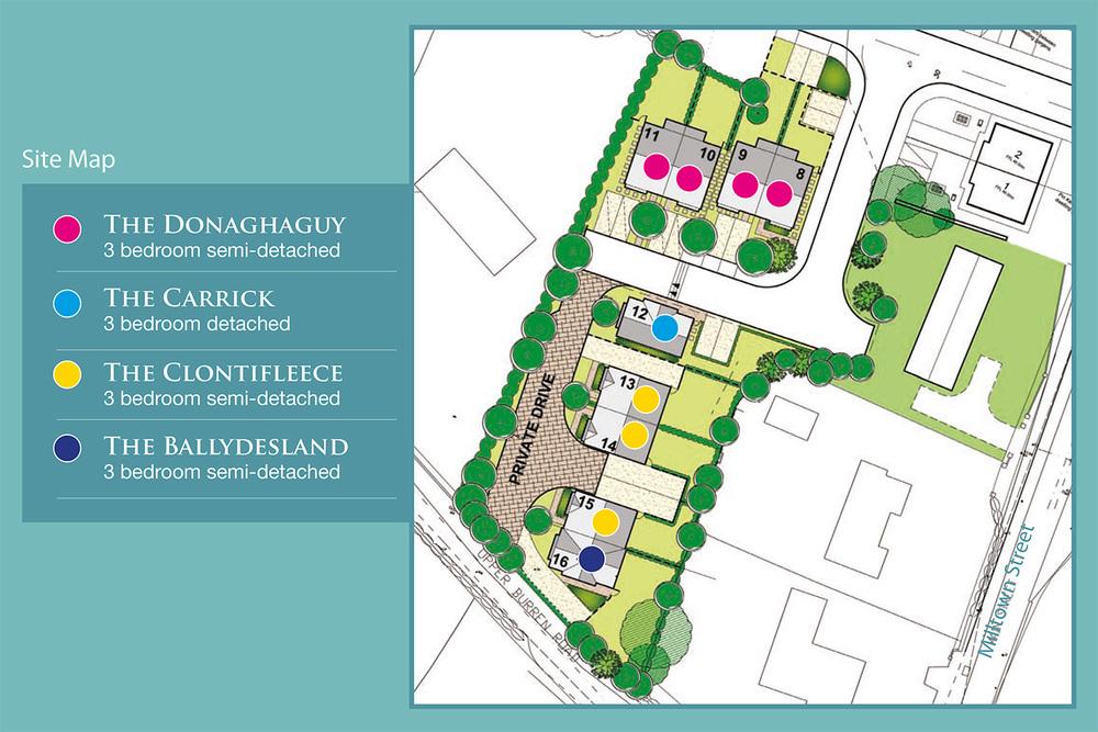 Site Map for Cloc Ballaun