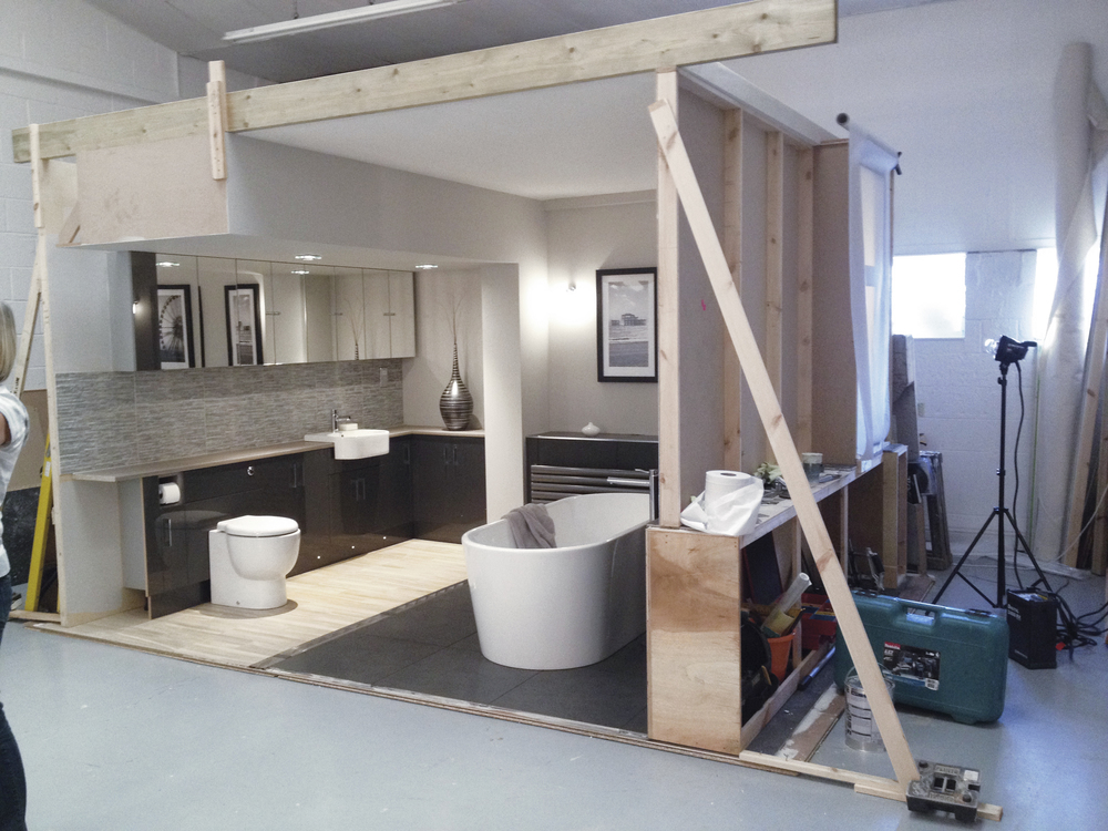 Room set in photography studio 2