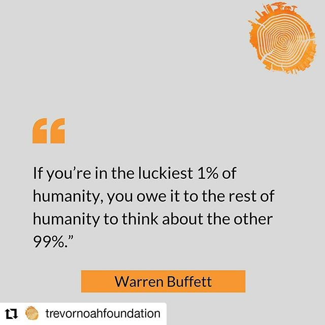 #Repost @trevornoahfoundation • • • Have you ever thought about how romantic philanthropy is? This Valentine's Day let's celebrate the selflessness, love, compassion and empathy we show for others. - According to the CAF Southern Africa SA Giving 2019 report, almost 9 in 10 South Africans did something charitable in 2018. -  Let's continue helping those in need. Happy Valentine's Day everyone!  #philanthropy #SouthAfricaGiving2019 #Love