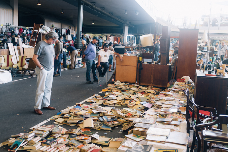 Finding my Happy Place at a Barcelona Flea Market