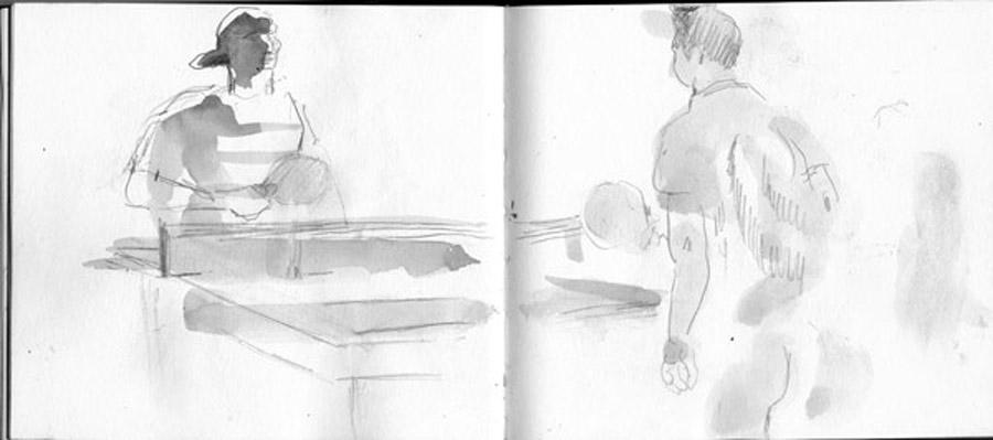 Ping pong, North Kensington