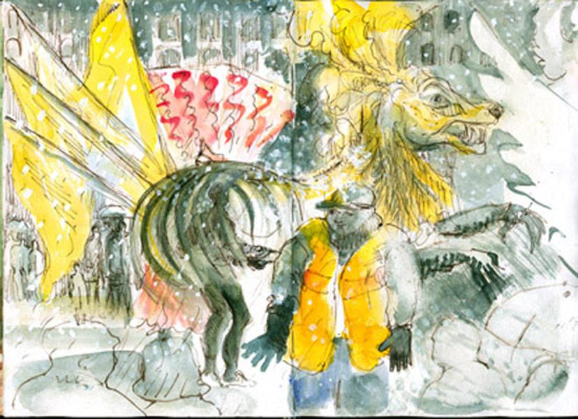 Olympic Torch, Ladbroke Grove