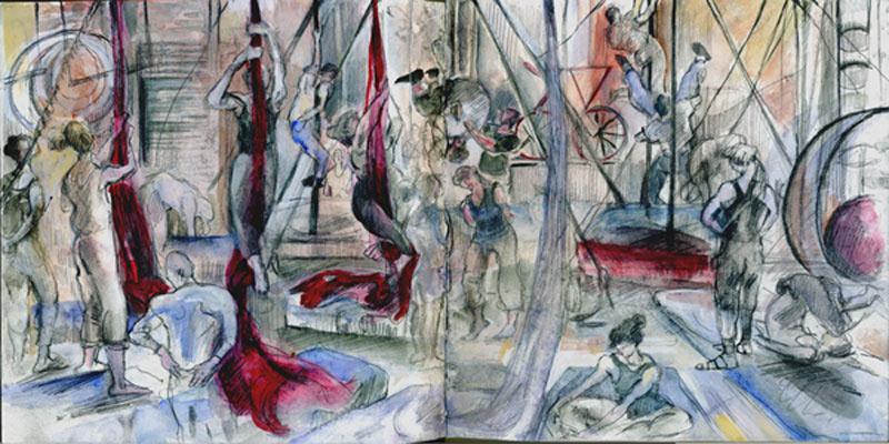 Silks Workshop, Circus Space, Hoxton, London