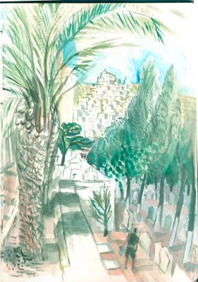 Hermopolis, Syros, cemetery