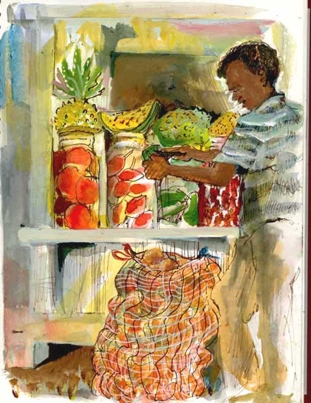Fruitseller, Cartagena