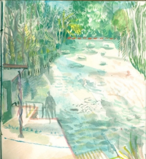 Hampstead Heath, the ladies' pond
