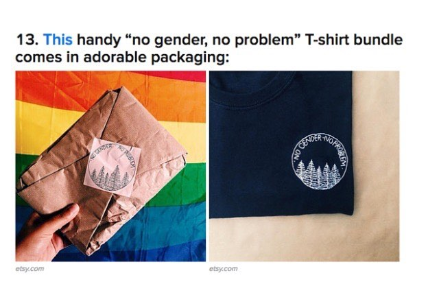 20 Things You Didn't Even Know You Needed For Pride by @skarskarskar on Buzzfeed! #nogendernoproblem #pride
