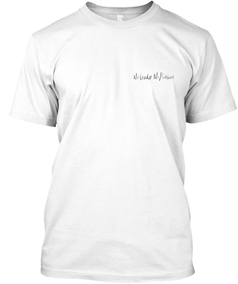 White Signature Tee - Celebrate the non-binary in one of our white signature tees!$19.99
