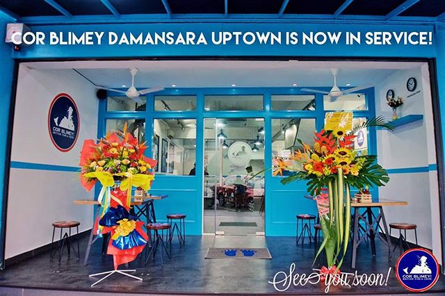 EXCITING NEWS!  COR BLIMEY DAMANSARA UPTOWN BRANCH IS OFFICIALLY OPEN!  Address: 33 Jalan SS 21/1A, Damansara Utama, 47400 Petaling Jaya, Selangor, Malaysia  CONTACT DETAILS  Call us @ +60 37733 8358  Email us @ corblimeygroup@gmail.com  http://www.corblimeymy.com/reservations/  SEE YOU SOON!