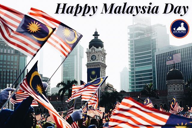 """We are only as strong as we are united, as weak as we are divided"" - J.K. Rowling  HAPPY MALAYSIA DAY to all Malaysian. Let this celebration bring us together!  Don't forget to make our British Fish and Chips be part of your gatherings 😉  PS: we are open as usual. Hope to see you guys soon!  #corblimey #damansarauptown #subangjaya #ss15 #britishfishandchips #happymalaysiaday #merdeka"