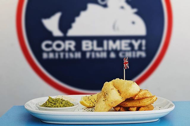 Crave for Fish & Chips?  We serve them finest British fish and chips here at Cor Blimey! Our menu offers authentic, fresh, homemade and not to mention Muslim friendly! Once bitten forever smitten! 😉  For reservations, please visit http://www.corblimeymy.com/reservations/ or call us (SS 15, Subang Jaya) 03 5611 3358 or (SS21, Damansara Uptown) 03 7733 8358.  See you soon!