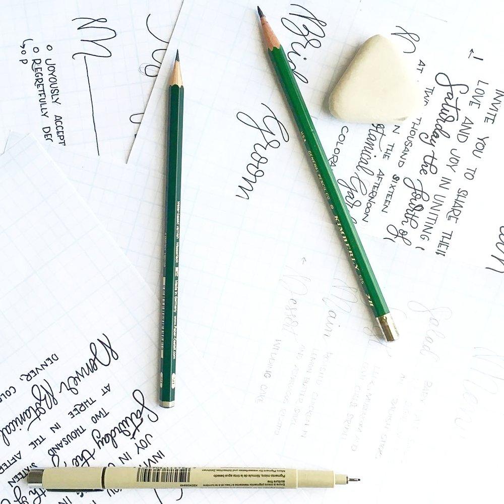 Design experience earnest bee calligraphy design stopboris Image collections