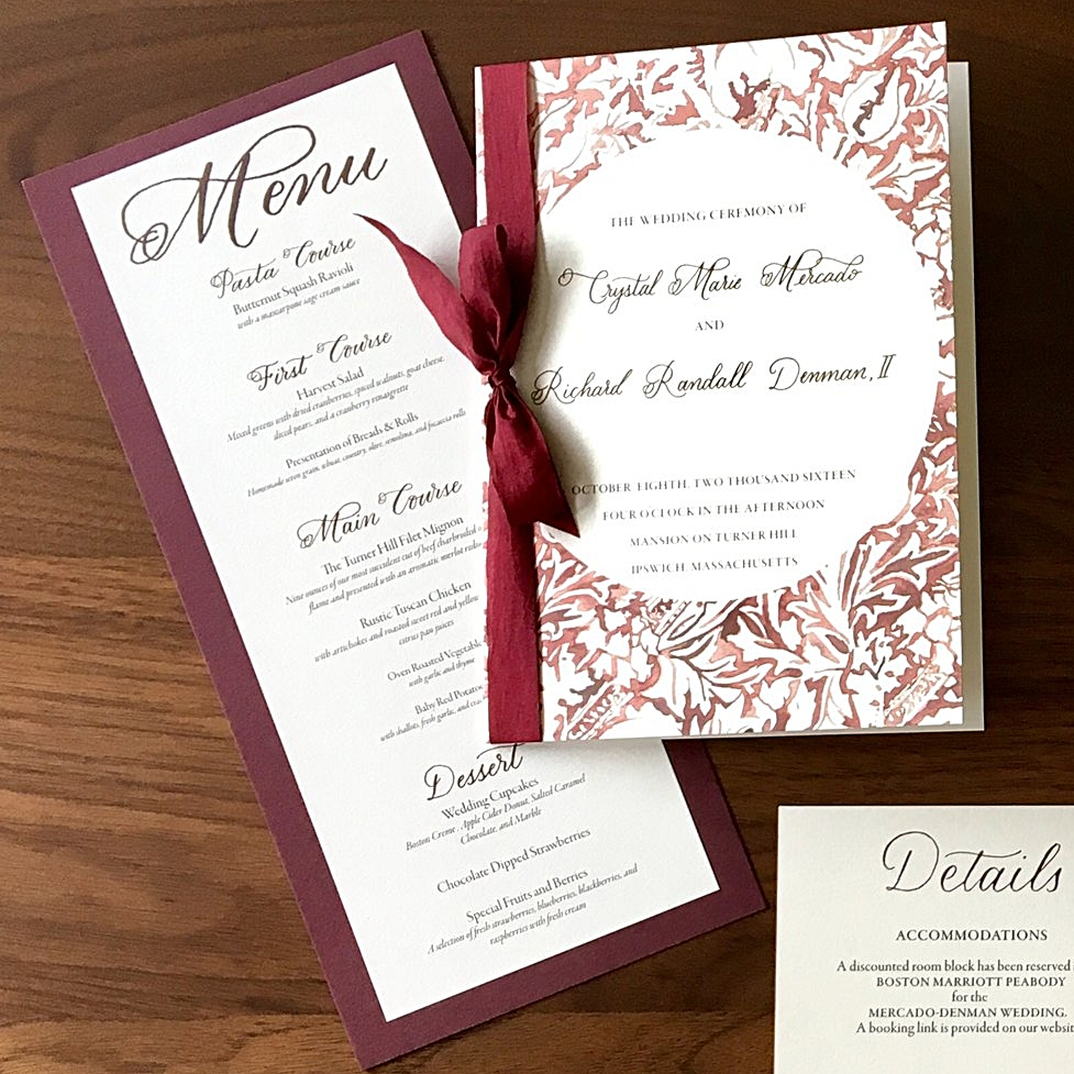Wedding Invitation - Romantic Vintage Scroll Watercolor.jpg