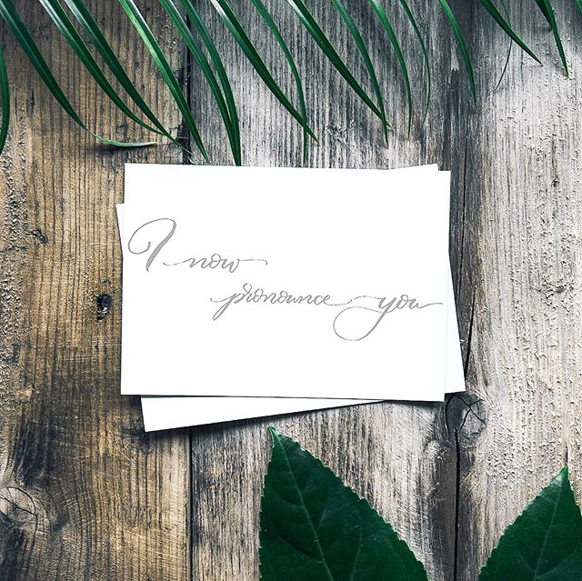 New card alert! With wedding season just around the corner, I wanted to help with a fabulous new card so you can send this unique card to your friends. It opens to the side instead of top or bottom. Head on over to my shop to snag yours - link in bio. . . . . . . #linkinbio #calligraphy #moderncalligraphy #wedding #lgbtwedding #lesbianweding #samesexwedding #samesexmarriage #lgbtmarriage #lgbt #wife #wifeandwife #twobridesarebetterthanone #twobrides #wifelife #lesbianwife #wifematerial #lovewins #lovealwayswins #handhweddings