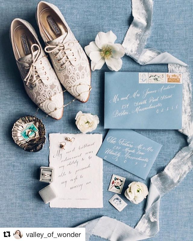 """My most brilliant achievement was my ability to be able to persuade my wife to marry me."" - Winston Churchill  #Repost @valley_of_wonder with @get_repost ・・・ Our first styled shoot was inspired by vintage silver, icy blues and winter white. It was an absolute pleasure working with this incredible team of ladies. All so talented and we are oh so thankful 🙏"