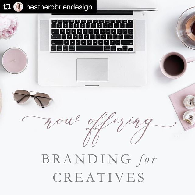 My dear friend and fellow amazing stationer has a huge announcement and I couldn't be happier for her!  #Repost @heatherobriendesign with @get_repost ・・・ Today is officially the day, sweet friends! 🙌🏻💕🎉 The doors are finally open for Branding for Creatives, an extension of Heather O'Brien Design! Not only will I be helping my sweet couples brand their weddings through invitations and stationery, I will also be helping some amazing entrepreneurs create a beautiful and well-rounded brand to help their businesses shine for their clients! . I'm so excited to be offering branding help kits (think about alllll the graphics that you use on a daily basis that need to be branded for your biz), a brand refresh option, and both partial and full branding packages! Hop on over to my fully refreshed website which will now house both services and check everything out! . You can also hop on over to the blog to read my latest post about this launch and the heart behind my decision to do this. . AND if today couldn't get any better! I am offering 10% any of the branding packages or help kits when you book now thru next Friday, May 11! No code needed, just simply mention you saw it here! And there may or may not be 15% up for grabs for anyone who shares this post and tags me! . From the bottom of my heart, thank you for your love and support during this endeavor. I am truly blessed with some amazing friends and family! . . . . . . . . .  #creative  #stationerydesign #risingtidesociety  #savvybusinessowner  #calledtobecreative #ohwowyes #creativityfound #branding #branddesign #thatsdarling #pursuepretty #communityovercompetition #lovelysquares  #ido #flashesofdelight #brandstylist  #rebrand  #weddingbranding  #graphicdesign #brand #brandingdesign