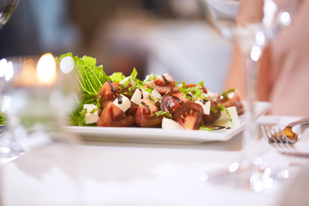 Fresh Mozzarella & Kumato Tomato Salad