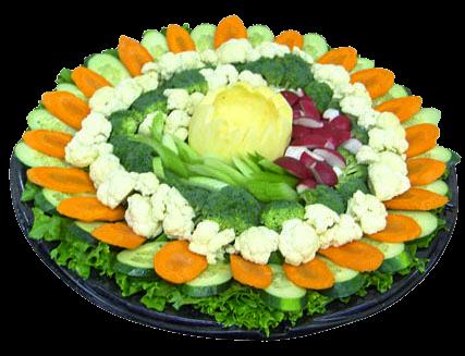 special veggie tray
