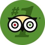 We are no.1 on Trip Advisor for the whole Haute-Savoie region of France!