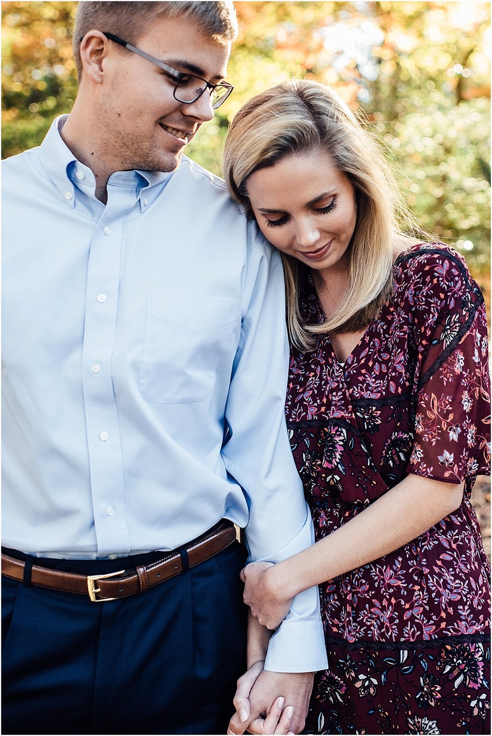 Lindsey Ann Photography - Engagement session at the Botanical Gardens in Downtown Birmingahm