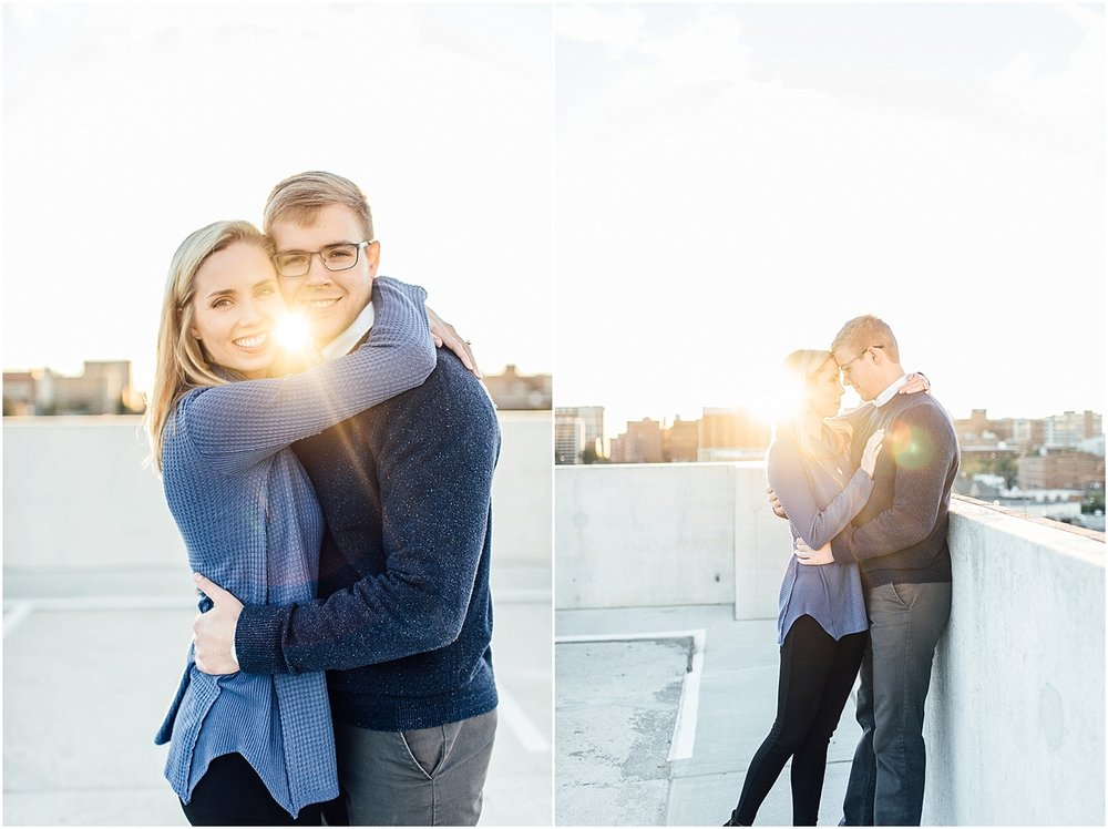 Lindsey Ann Photography - Engagement session at the Botanical Gardens in Downtown Birmingham