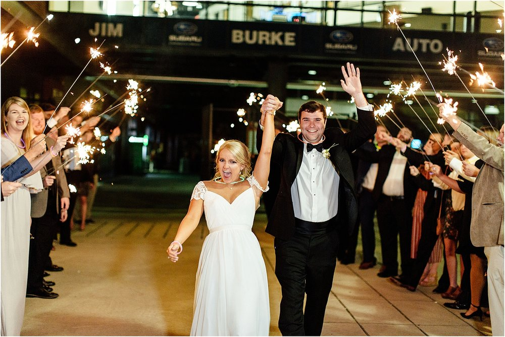 lindsey ann photography, railroad park wedding, regions park wedding, fall wedding, birmingham downtown wedding, birmingham wedding photographer, sparkler exit