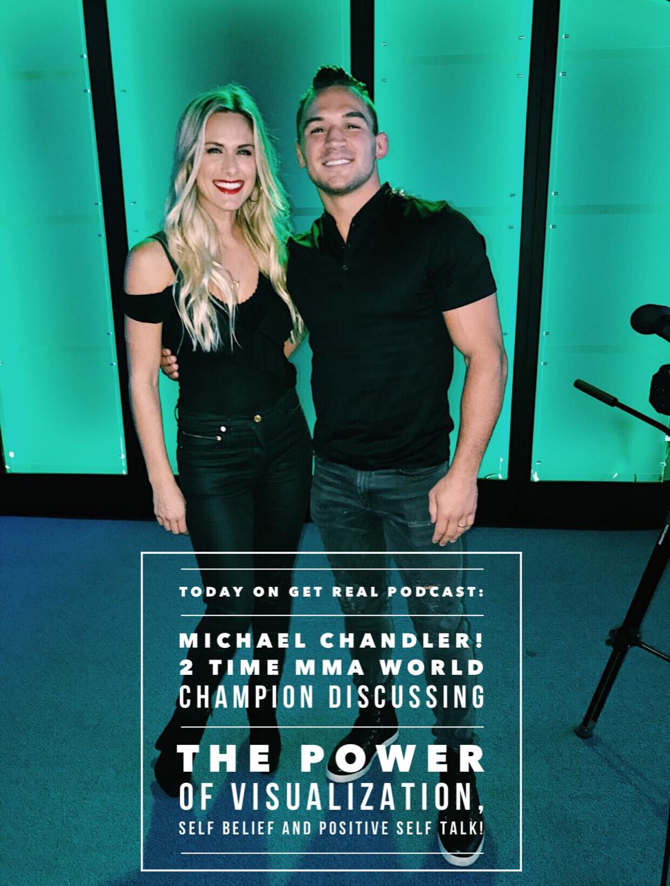 Michael Chandler. 2 Time LightWeight MMA World Champion