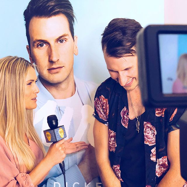 """Pretty incredible feeling witnessing someone as hardworking, talented, kind and funny as @russelled (and his gorgeous wife @kaileydickerson) experience his first #1 song at Country Radio """"YOURS."""" Congrats my friends! No one more deserving! 🤩🎉 #nashvilleinsider"""