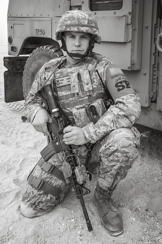 Daniel J. Smith,  SSGT, USAF (MED. RET.)