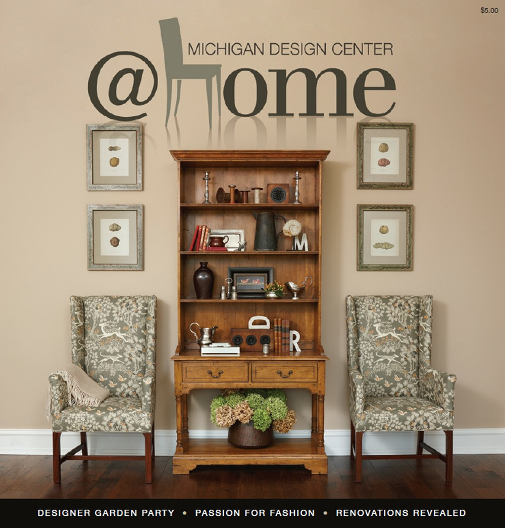 Dunlap design group llc michigan interior design and for Deco design magazine