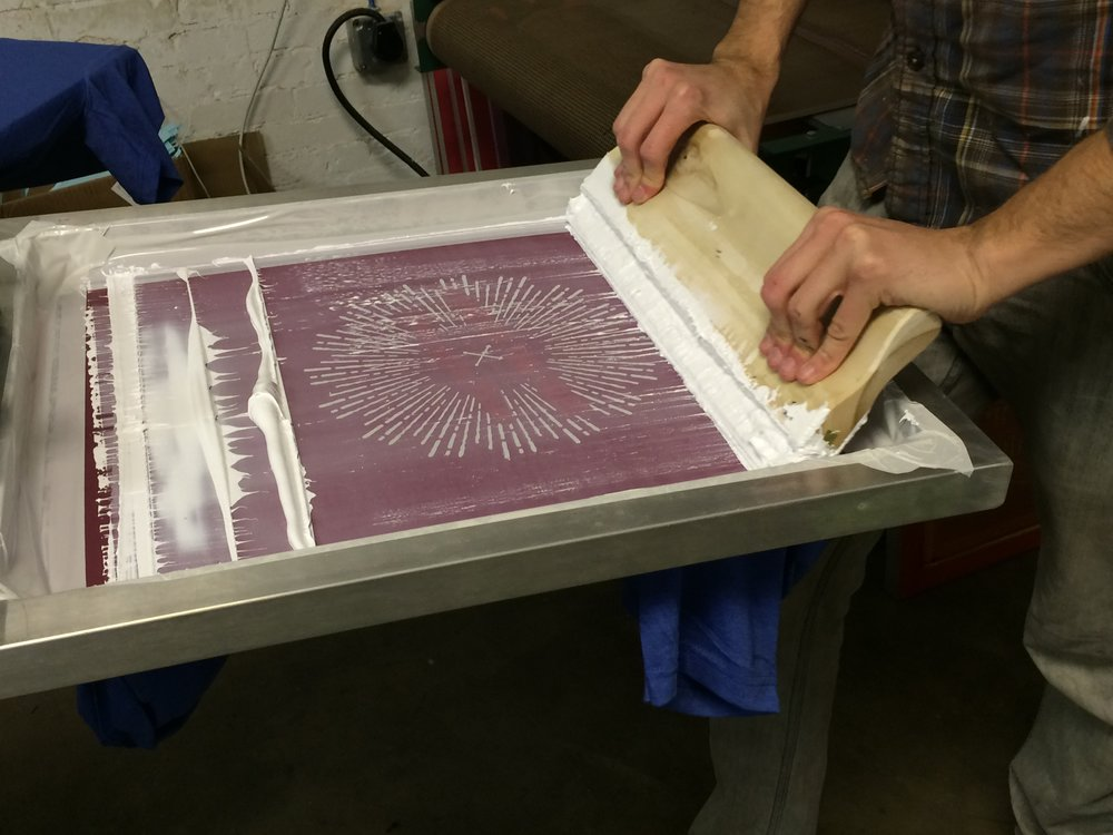 How Are T Shirts Printed The Screen Printing Process