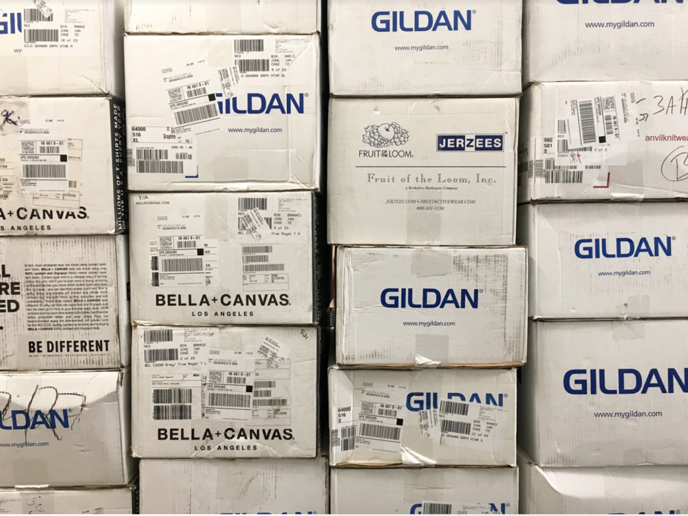 Bulk Printing - T-shirt Boxes