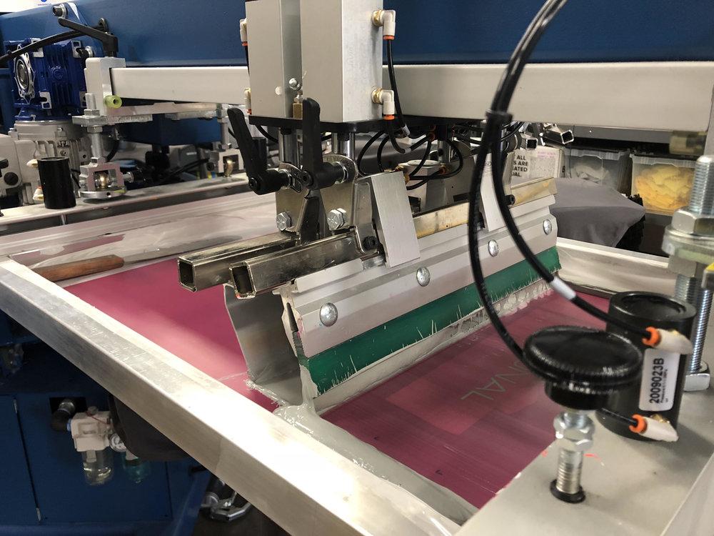 Automatic Screen Printing Press