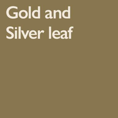 Gold & Silver Leaf