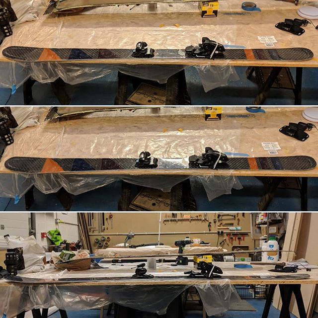 Une ski #woodworking #kinda #itsgotawoodencore #design #ski #skiing #winter #wintersports #snow