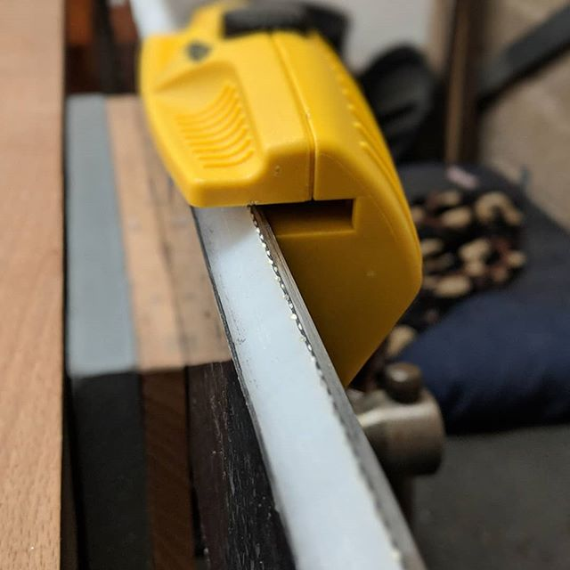 Edge sharpening and honing time #sortawoodworking #skis #ski skiing #winter #wintersports #design