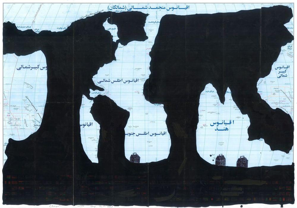 Marée Noire, 2013, Copyright: Ghazel und Carbon 12, Dubai