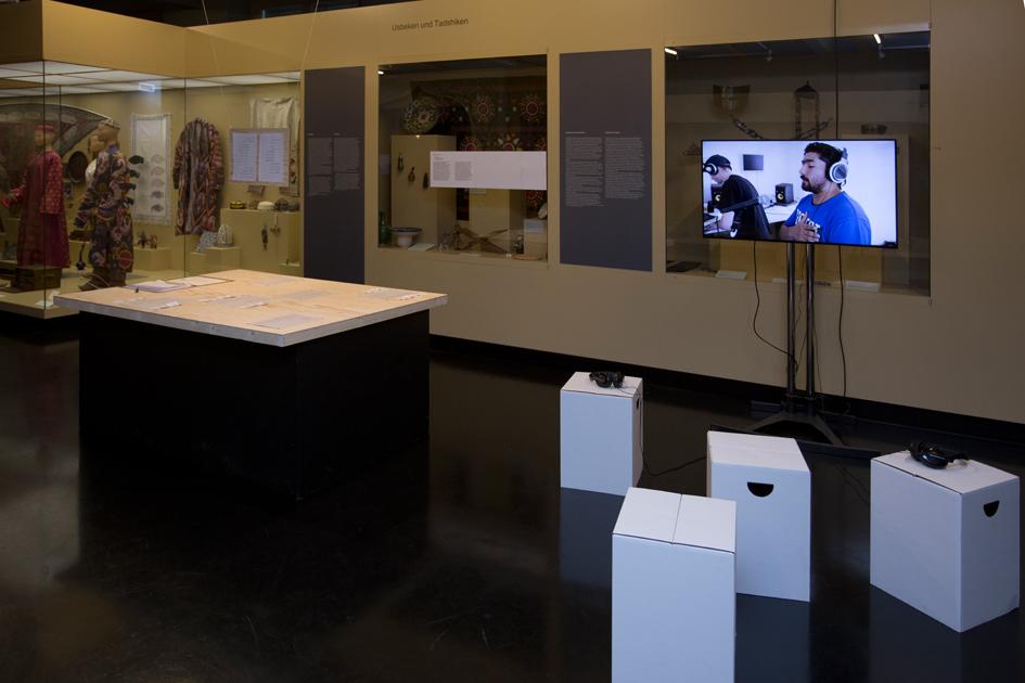 Installation at GRASSI Museum für Völkerkunde Copyright Mo Zaboli