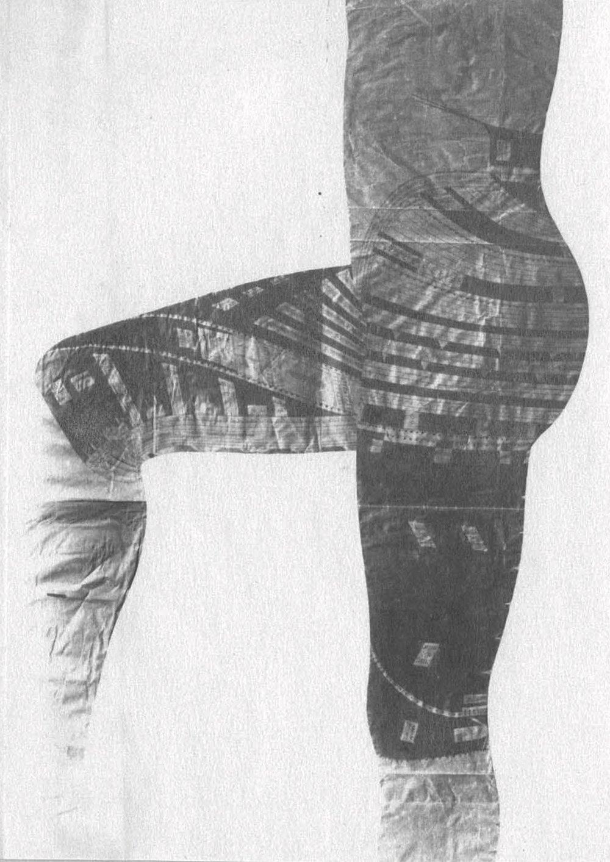 """Tuschezeichnung / Julius Henninger 1811  Vermerk auf dem Katalogzettel: """"Tatuierung, wie solche bei der männlichen Bevölkerung Samoas üblich (...) von J. Henninger in Originalgröße nach dem Leben gezeichnet"""""""