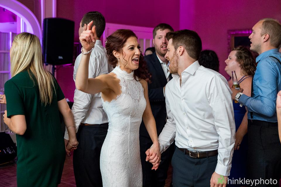 Bride dress change to dance the night away! Congratulations to Kristi-Anne and Dan,