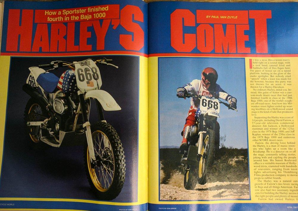 Cycle World April 1987