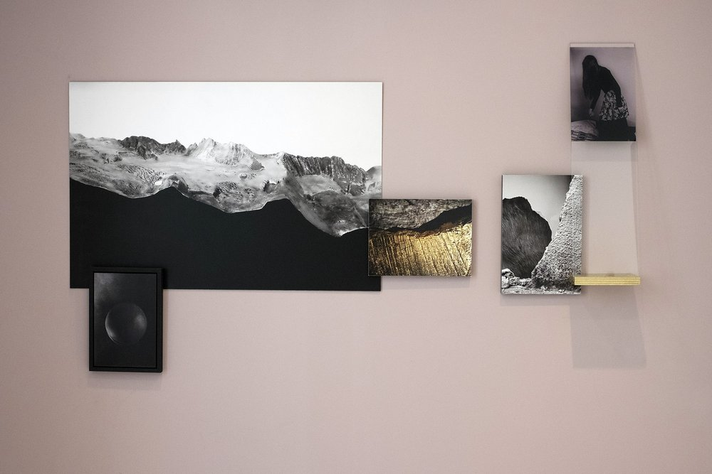 Scenario , Installation view from  Errance Blanche  at Fotohaus ParisBerlin, Les Rencontres d'Arles, July 2017