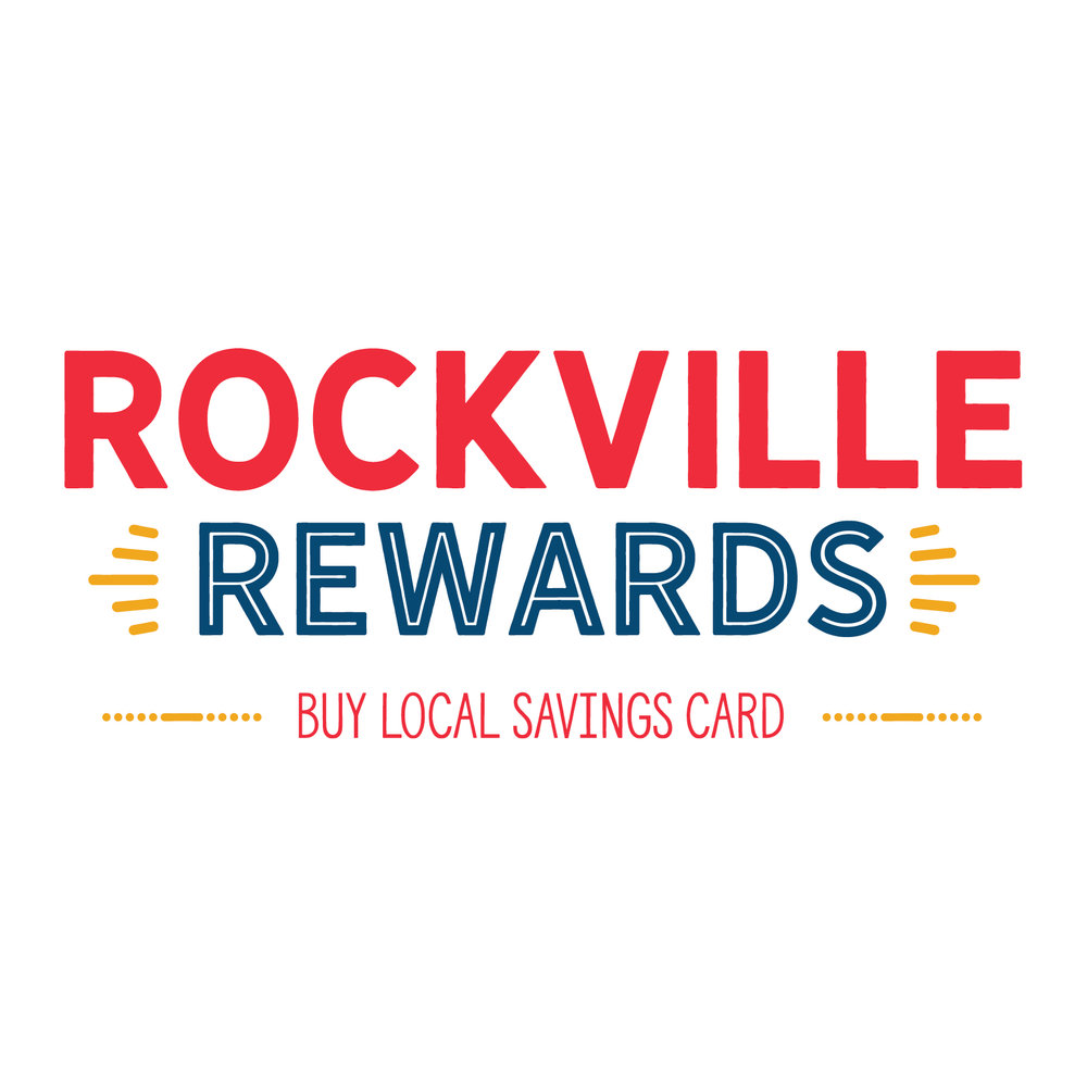 Rockville Rewards Program   Brochure / Postcard / Discount Card