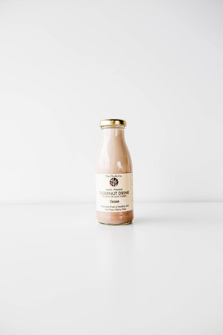 Organic Tigernut Milk Cacao 250ml
