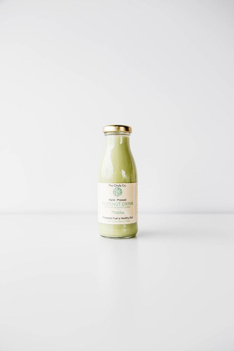 Organic Tigernut Milk Matcha 250ml