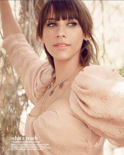 Rashida Jones for InStyle Magazine