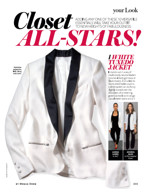 Closet All Stars InStyle Magazine