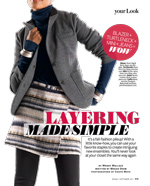 Layering Made Simple InStyle Magazine