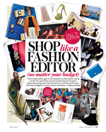 Shop like a fashion editor InStyle Magazine