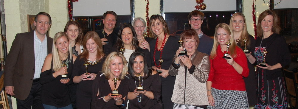 "Each co-worker received a unique, Oscar-inspired accolade for their unique contributions – from ""most willing to bring order to chaos"" to ""most likely to dazzle (and hug) a client."""